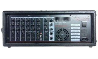 Amplificador Supertech S975WR  06 Canais Com Efeito Delay time