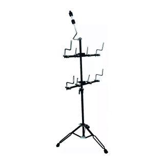 Suporte Torelli TEP42 P/Percussão 8Clamp,1Clamp Prato Ferr.Dupla