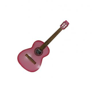 Violão Passion Nylon Clássico Estudante Acústico Rosa