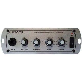 Amplificador Pws Dc50 Carro 12v 50wrms