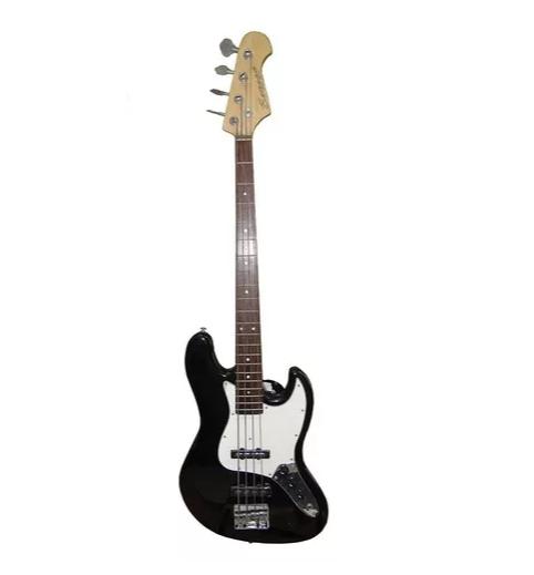Baixo Benson Jazz Tone Dlx Bk 006651 Custom Series 4c Preto