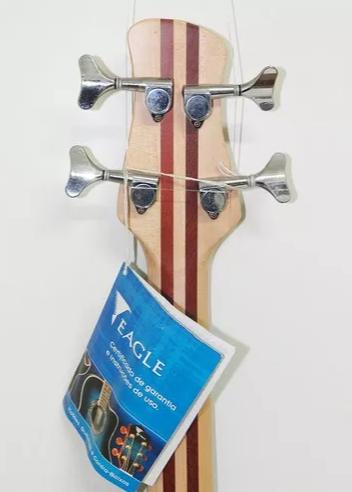 Baixo Eagle Egb4000 4c Ativo Azul Transparente