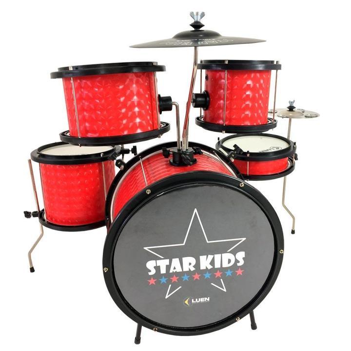 Bateria Luen 44000v Star Kids Infantil Vermelho