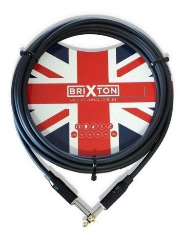 Cabo Brixton Bc105tx Textil 15ft 4,57m P10 P/Ins.Metal