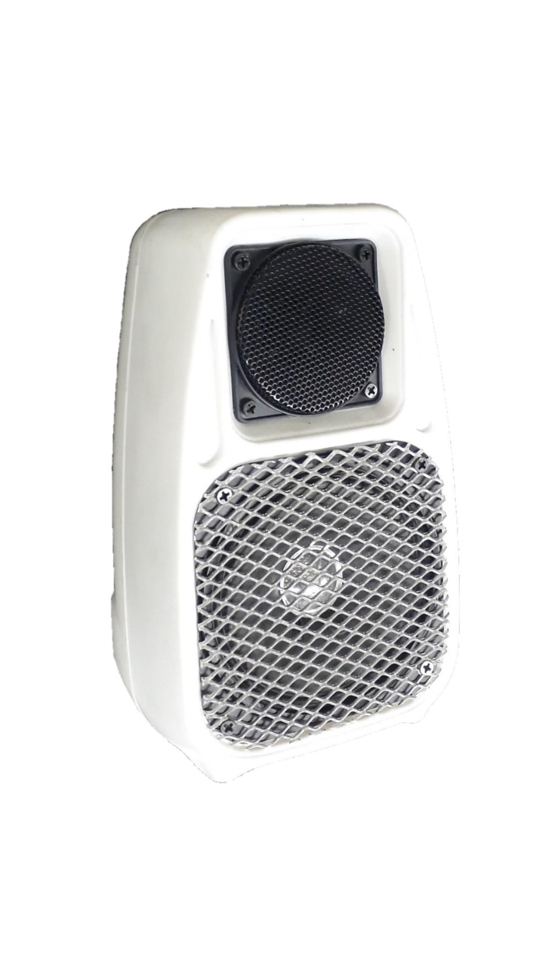 Caixa Acústica Supertech Capela 75 Falante4 Som Ambiente 8h Branca