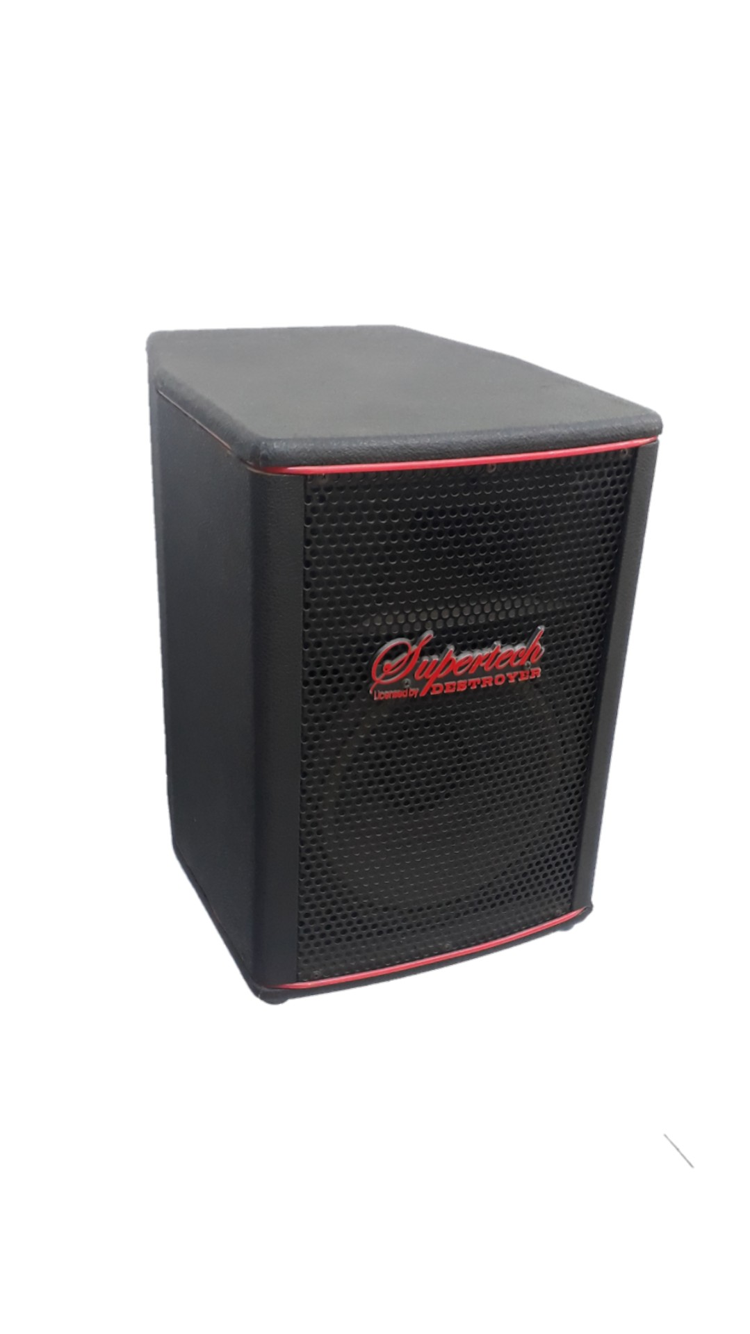 Caixa Acústica Supertech Falante 8.Dourado150wref.