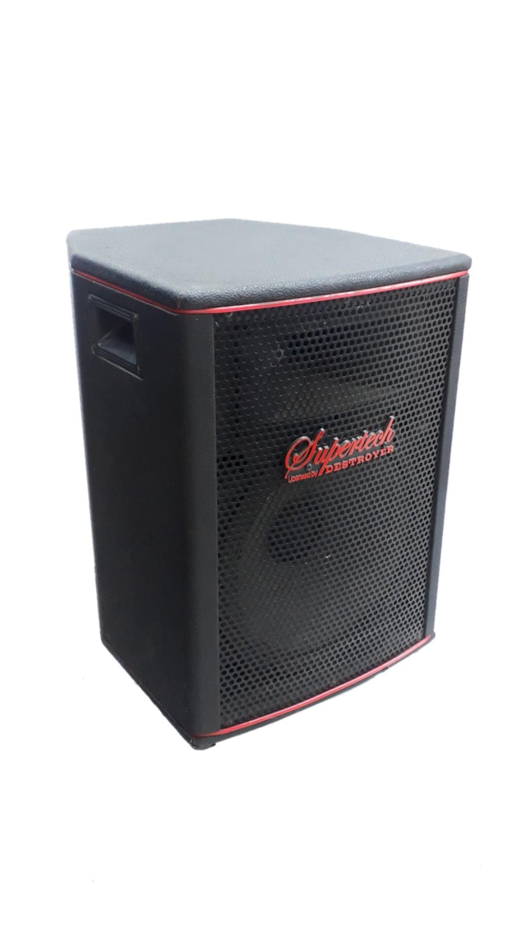 Caixa Acústica Supertech Hibrida Falante12.2 120wref.