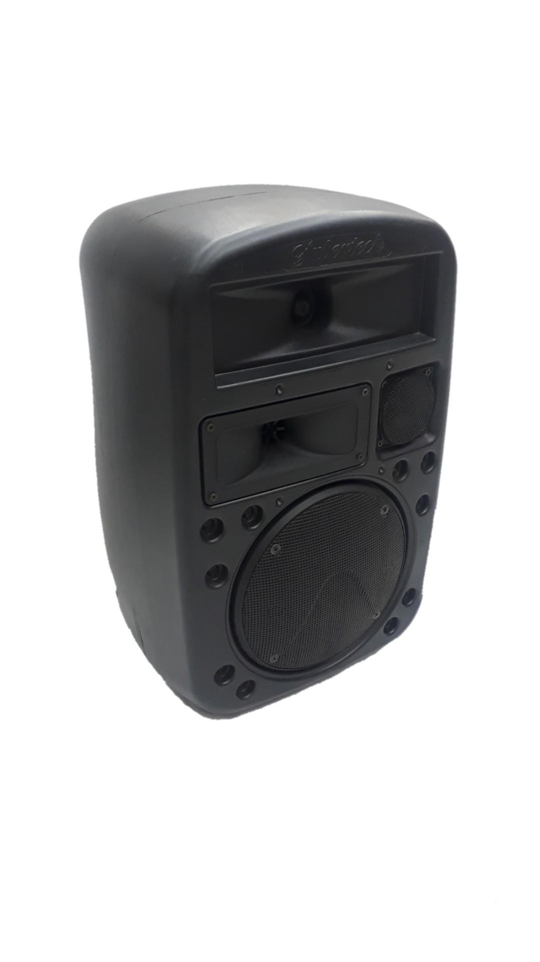 Caixa Acústica Supertech Mochila R50 Falante 6 Suspensão Acústico Passiva 100wref