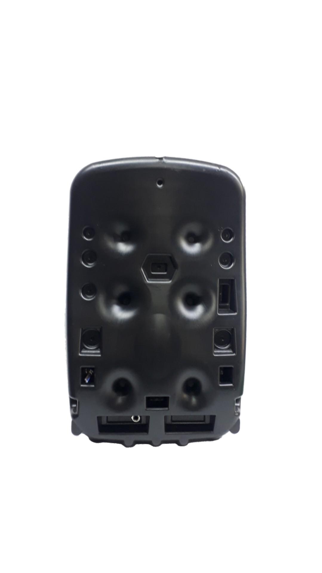 Caixa Acústica Supertech Mochila R50 Falante6 seco Passiva 70wref Preta