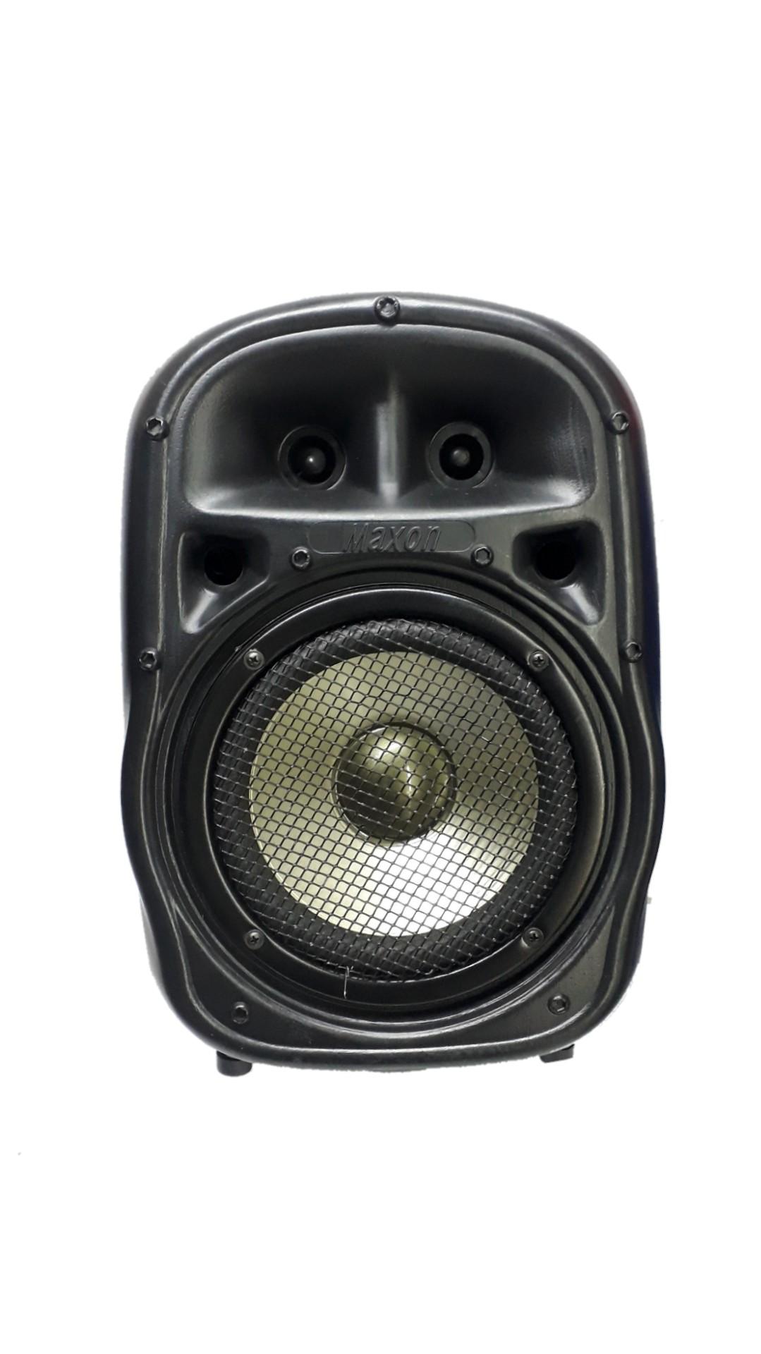 Caixa Acústica Supertech Pe8 Turbinada Falante 8'Dourado Ti.Passiva.124wref