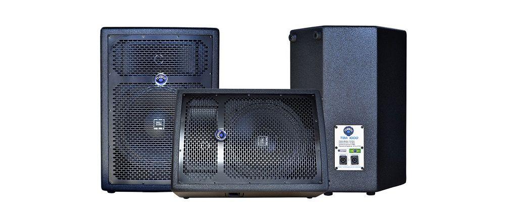 Caixa Acústica Turbox Tba1000p Fal10 Passiva 125wrms