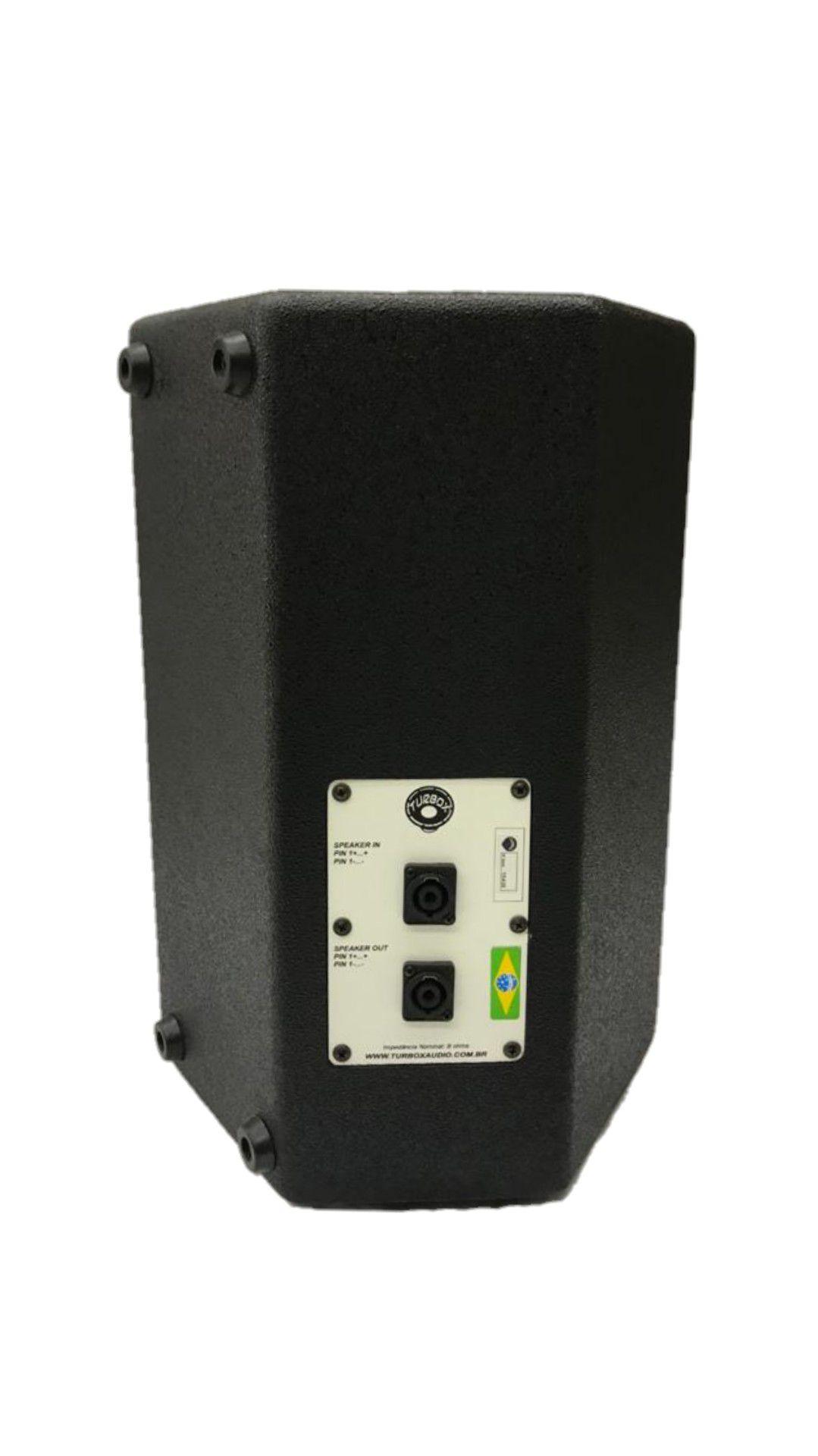 Caixa Acústica Turbox Tba1000p Falante10 Passiva 125wrms
