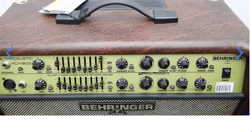 Caixa Amplificada Behringer Acx1800 Viol.110wrms