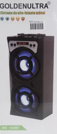Caixa Amplificada Golden Ultra Ms144bt Com Bluetooth