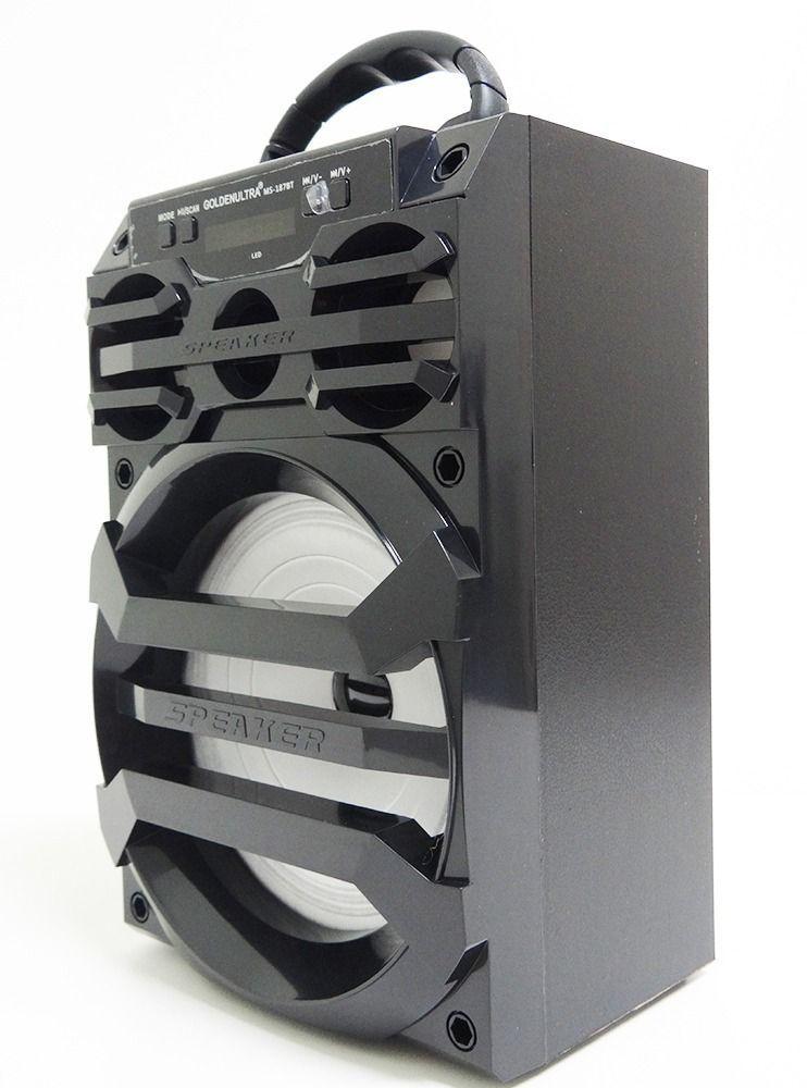 Caixa Amplificada Golden-ultra Ms187bt Com Bluetooth