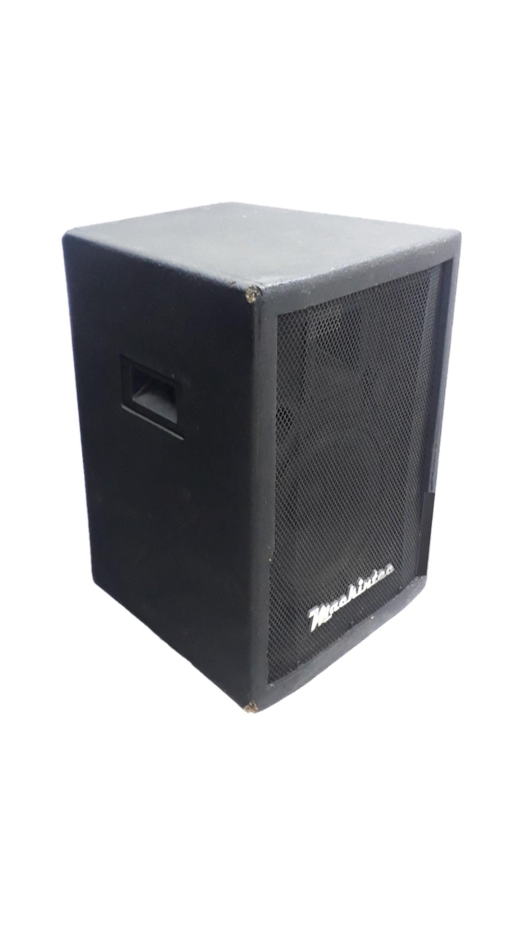 Caixa Amplificada Mackintec Box150 Frontal 3v.Falante 10.Ativa 100wrms