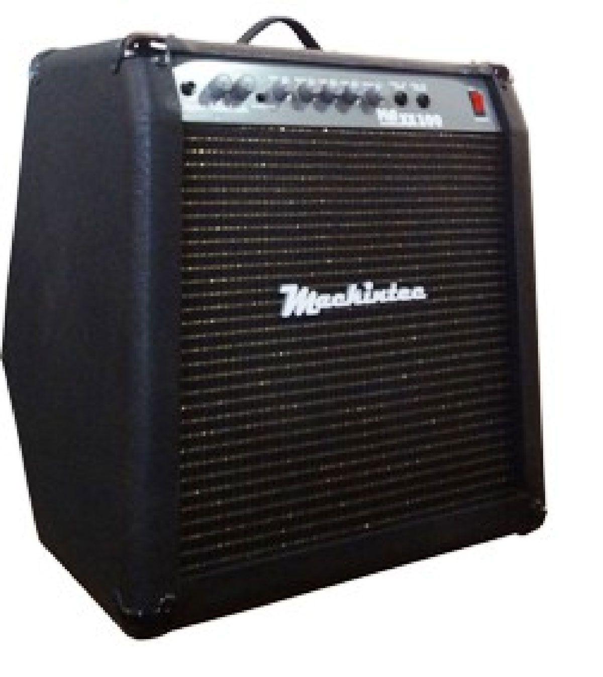 Caixa Amplificada Mackintec Maxx100 C/Distorção Guitarra 100wrms