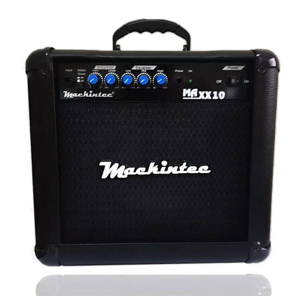 Caixa Amplificada Mackintec Maxx10 C/Distorção Guitarra,15wrms Preta