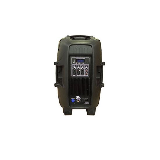 Caixa Amplificada Pz Proaudio Px15a Bluet Usb/Sd/Fm,Fal15 Disp.Dig.Cont.Rem.Ativa Alim.Pass.  200wrms