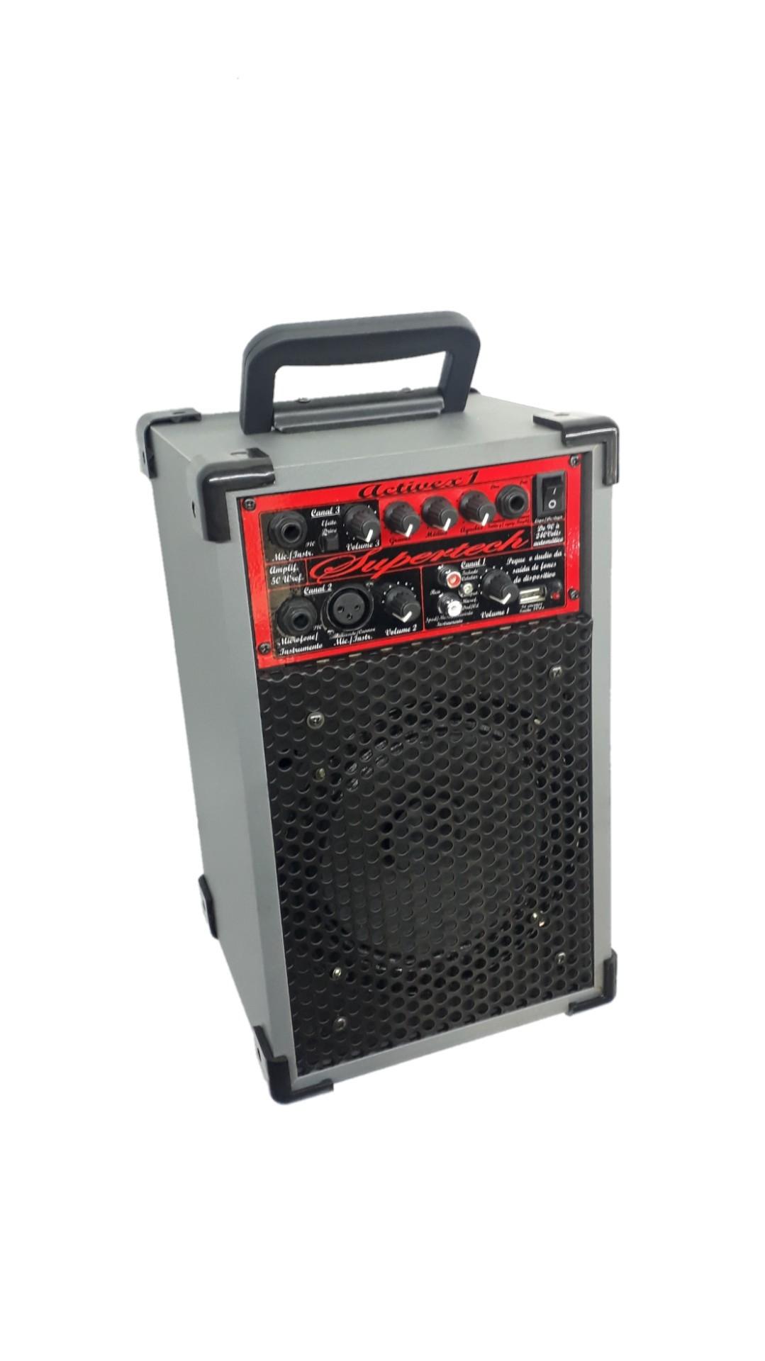 Caixa Amplificada Supertech Solução 1.6.50