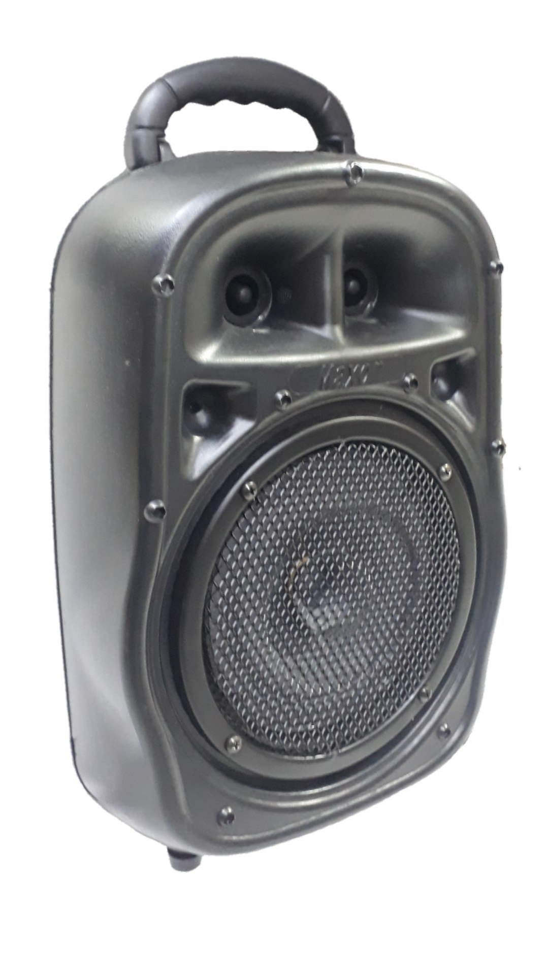 Caixa Amplificada Surtech Pe8 Turbinada Blu.Usb/Sd/Fm Falante6seco, 3canais N15.Eco Controle Remoto,Ativa Reversor Alimenta Passiva258wre