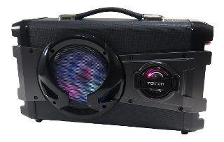 Caixa Amplificada Taicon Tas2018 Blueetooth.Usb/Sd/Fm,1microfone, Falante5, Bateria12v Controle Remoto,C/Fonte