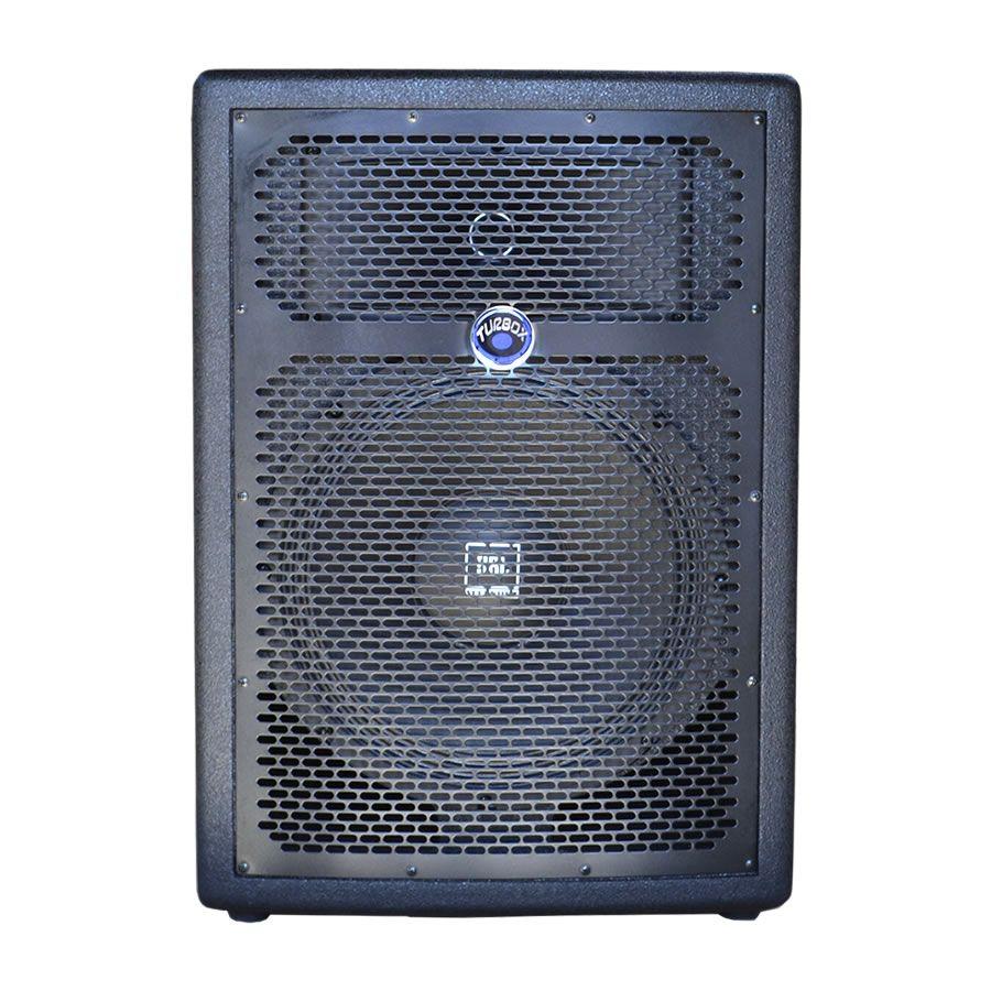 Caixa Amplificada Turbox Tba1200a Bluetooth Usb/Sd/Fm,Falante12', Dispositivo Digital, Controle Remoto, Ativa 250wrms