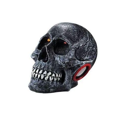 Caixa Amplificada Xcell Xcdj16bt Caveira Cranio Bluetooth Usb/Sd/Fm,C/Bateria, Preta