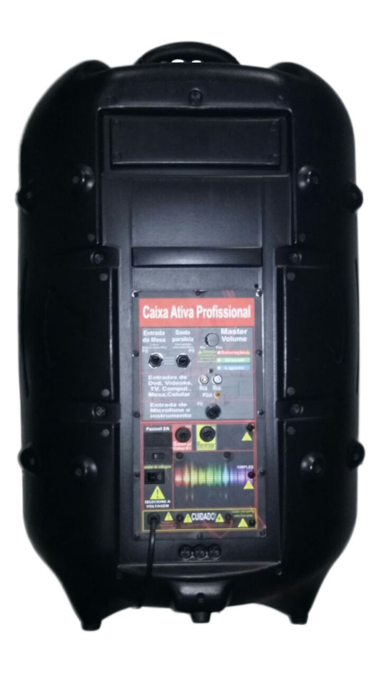 Caixa Ativa Supertech Profissional PE15 431WR Falante 15.5 1 Canal