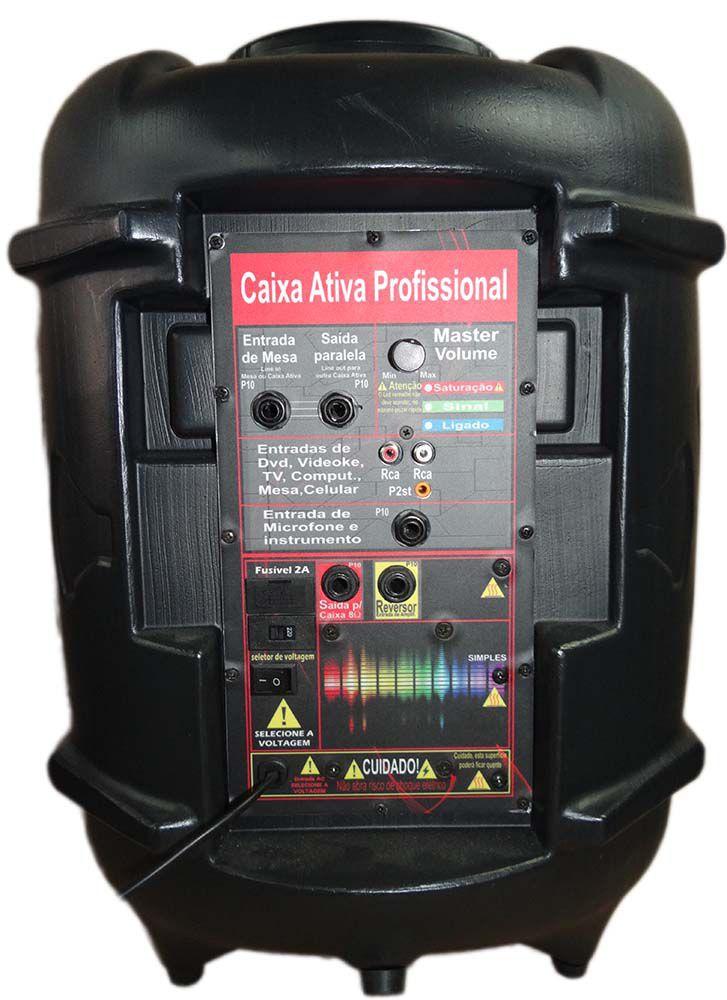Caixa Ativa Supertech Turbinada Profissional  PE10  357WR 1Canal