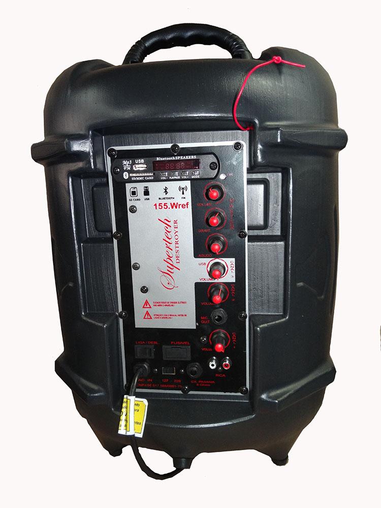 Caixa Supertech Turbinada PE10 264WR 02 Canis Ativa Blut/ Usb/Sd/Fm