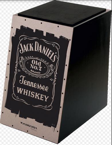Cajon Spanking 112955 Jack Daniels Inclinado Eva.Elétrico