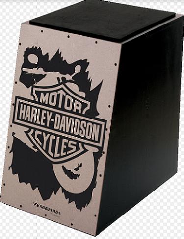 Cajon Spanking 112967 Harley Davidson Inclinado Eva.Elétrico