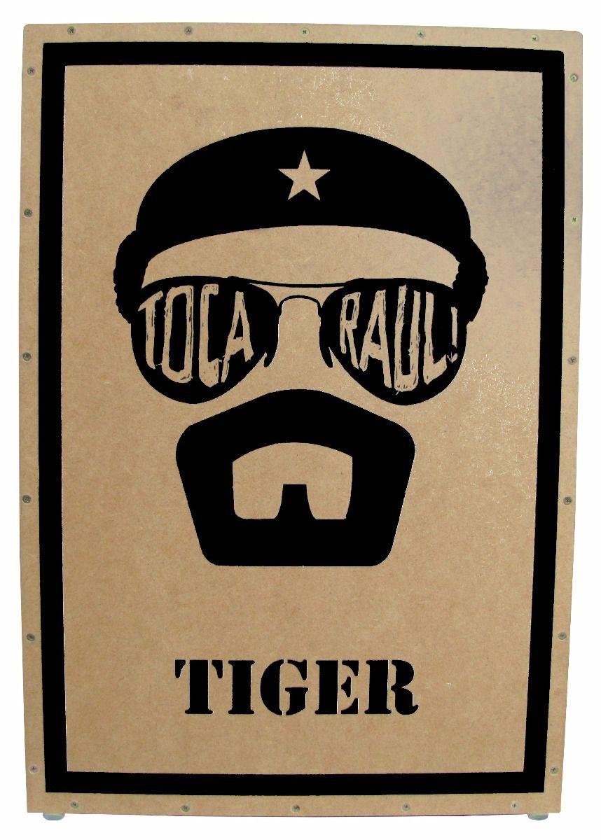 Cajon Tiger Toca Raul Reto Finish Santin Eva.Acustico