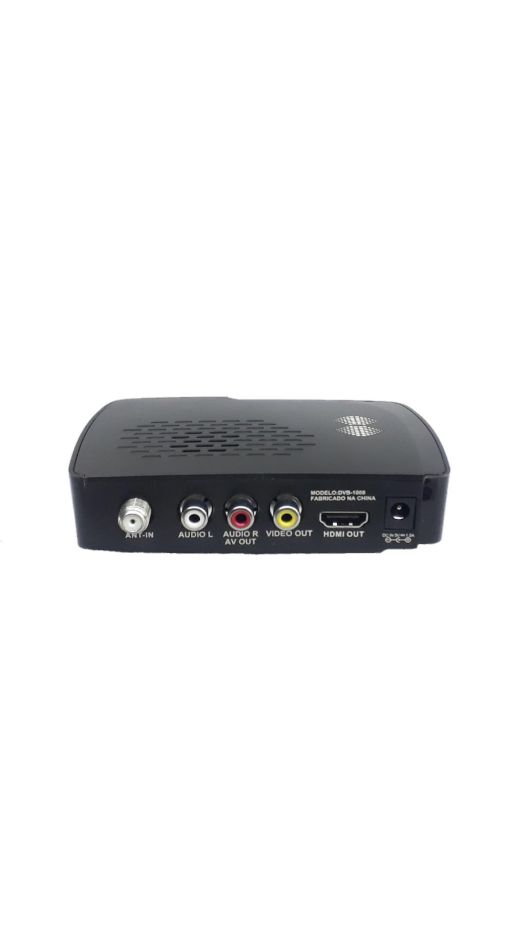 Conversor Compell Isdbt 499009 Receptor Digital Hd