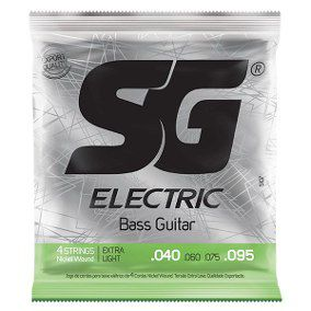 Encordoamento Baixo Sg 5029 4cordas Niquel Extra Light 040