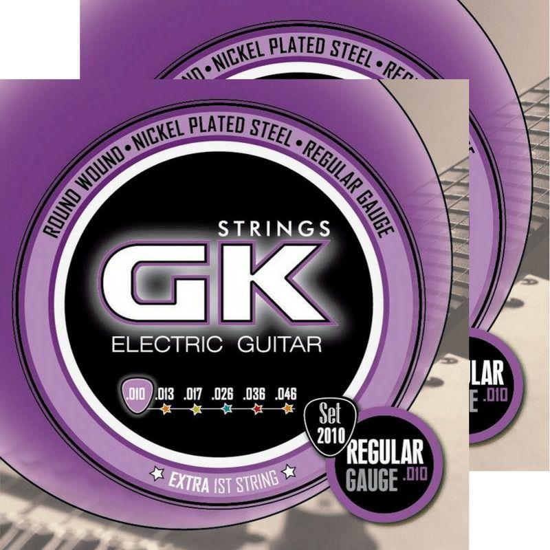 Encordoamento Guitarra Gk 012010 Nickel Plated Steel Nps 010