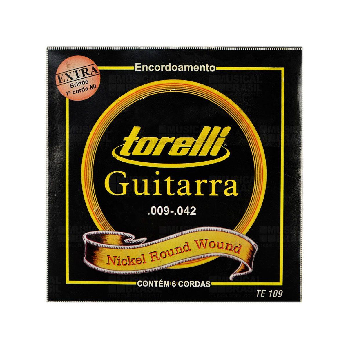 Encordoamento Guitarra Torelli Te109 009