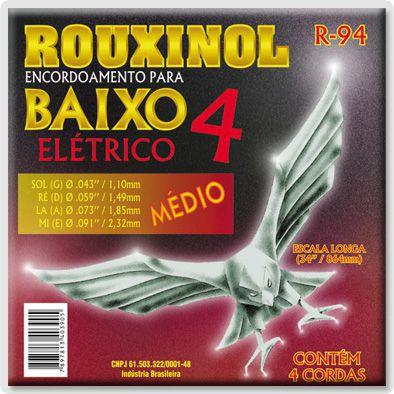 Encordoamento Para Baixo Rouxinol R94