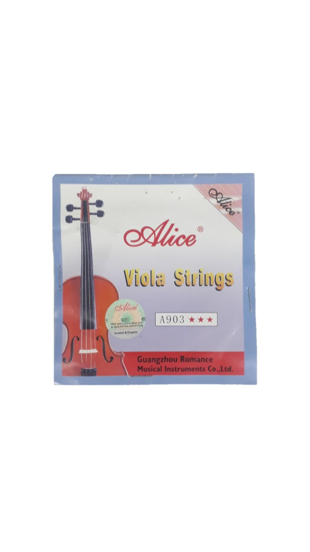 Encordoamento Para Viola.de Arco Schienffer A903 Schvls001