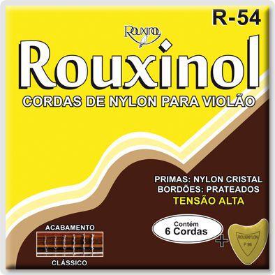 Encordoamento Para Violão Rouxinol R54 Nylon Alta Tensão