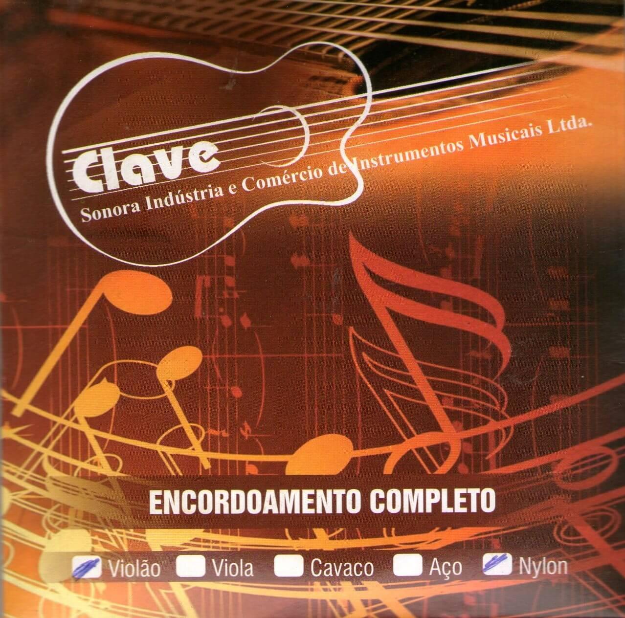 Encordoamento Violão Clave Nylon