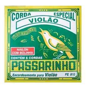 Encordoamento Violão Passarinho Pe810 Nylon C/Bolinha