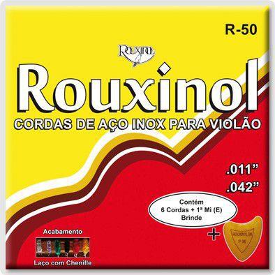 Encordoamento Violão Rouxinol Aco R50