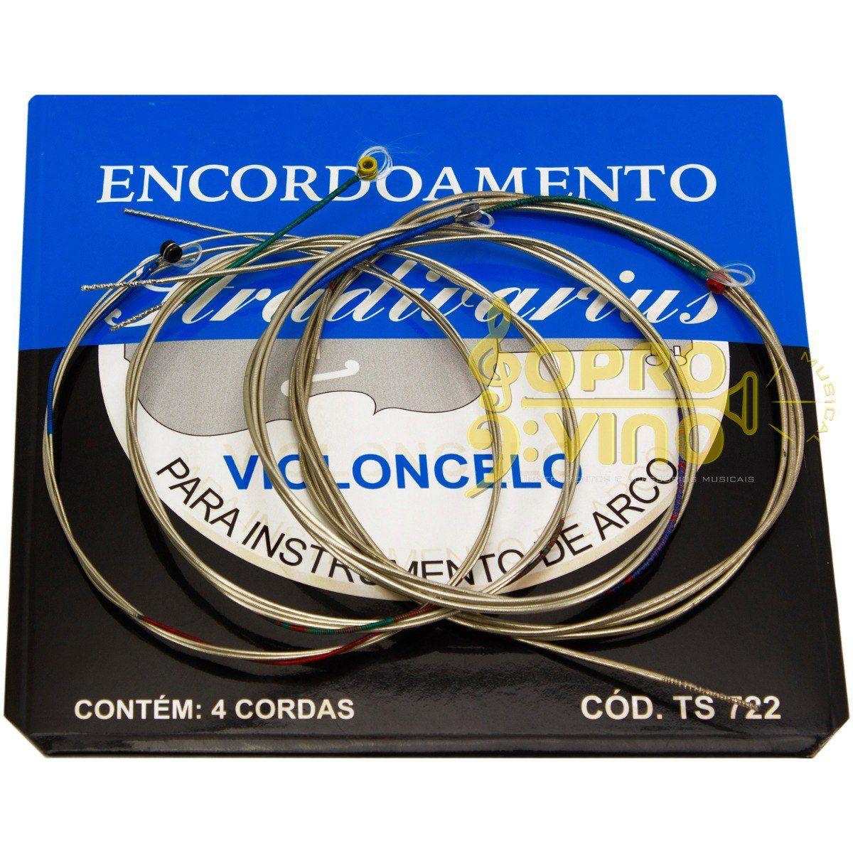 Encordoamento Violãocelo Stradivarius Ts722