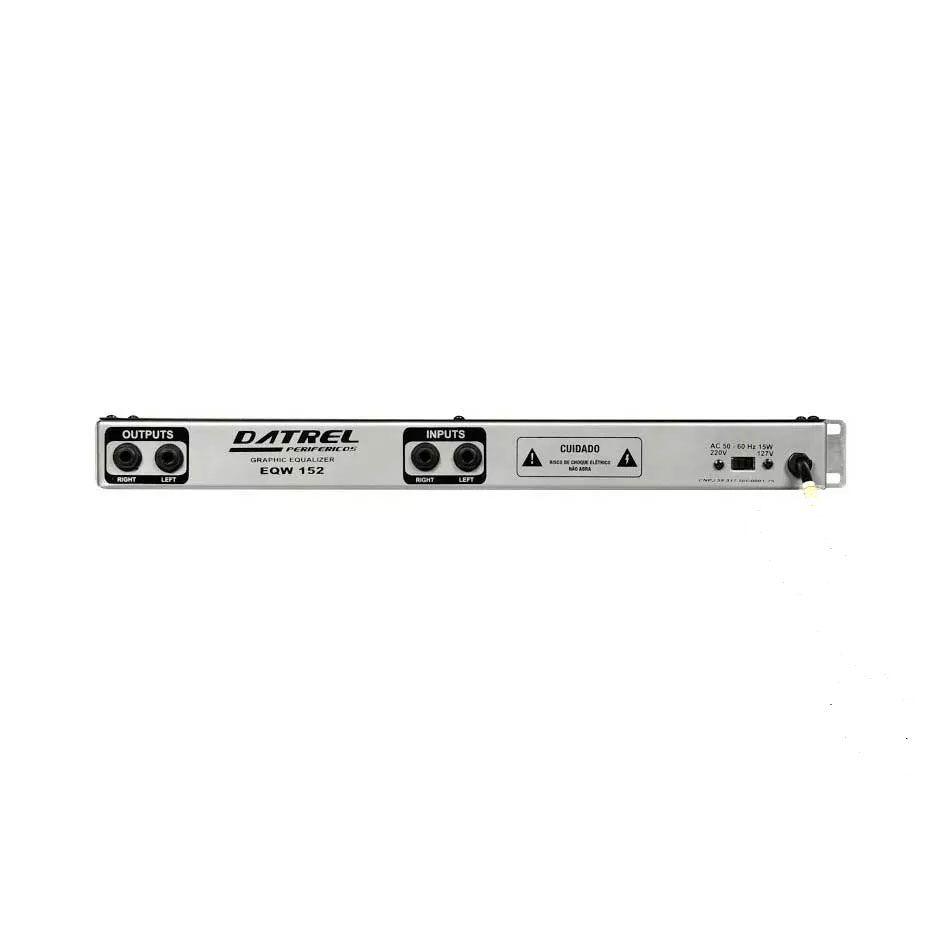 Equalizador Datrel Eqw152 Stereo 15 Bandas