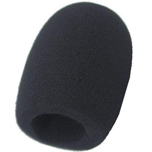 Espuma Microfone Wisliker Ak017 Padrao Sm58 Preta