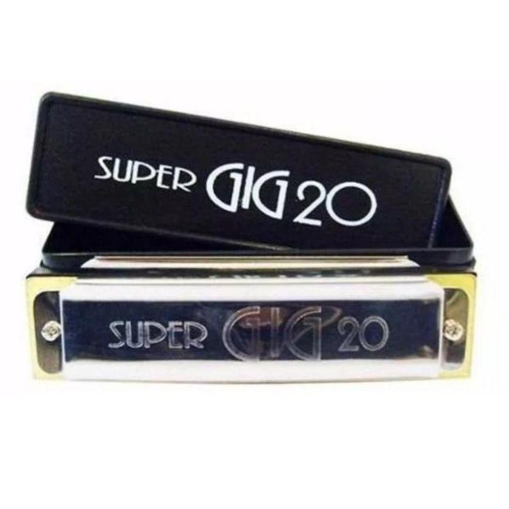 Gaita Hering 4020 Super GIG20 Diatônica C Dó