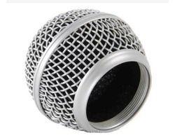 Globo Microfone Mxt 5421 Plástico Prata