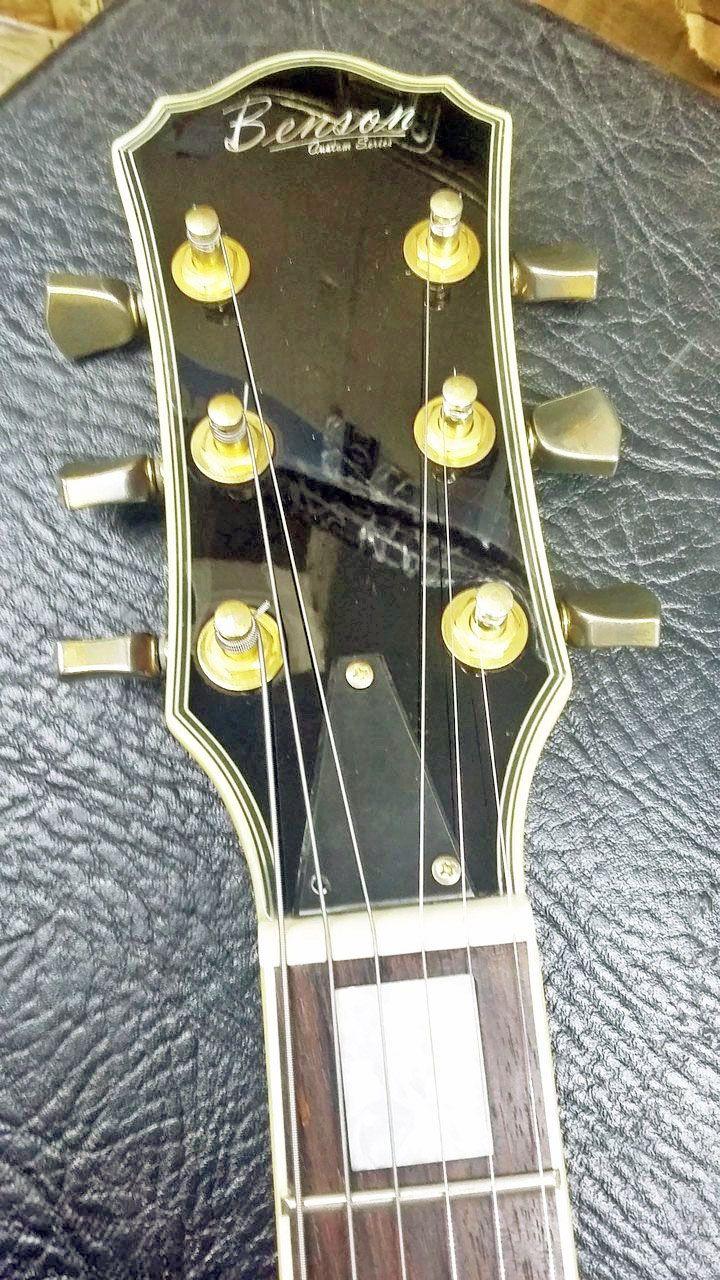 Guitarra Benson Prime Custon Series Lespaul Vinho